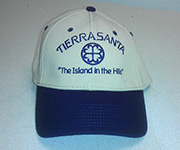 Fitted cap (Navy/Khaki) w/navy circle cross logo