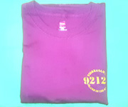 Men's crew (Burgundy) w/gold 92124 logo