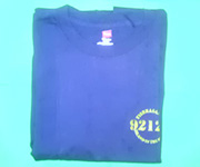 Men's crew (Navy) w/gold 92124 logo