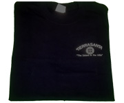 Men's crew (Navy) w/white circle cross logo