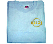 Youth crew (Light Blue) w/gold 92124